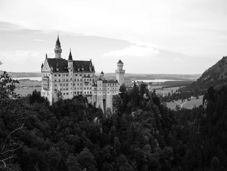 Das Schloss Neuschwanstein: ein Märchen